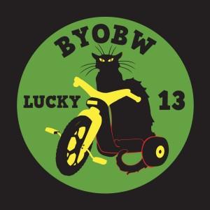 BYOBW 13 Sticker